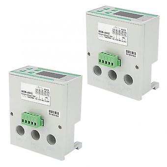 220/380v Ac Digital Electric Motor Protector 2-99a Overload Phase Loss Protector With Display Mdb-201z