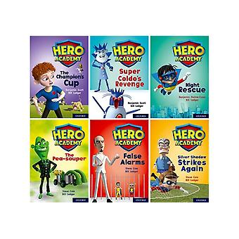 Hero Academy Oxford Level 9 Gold Book Band Class pack by Illustrated by Bill Ledger