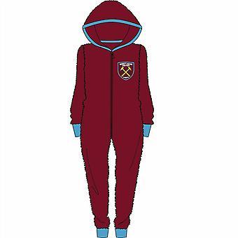Mens West Ham Onesie / Jumpsuit