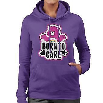 Care Bears Cheer Bear Born To Care Bluza z kapturem dla kobiet