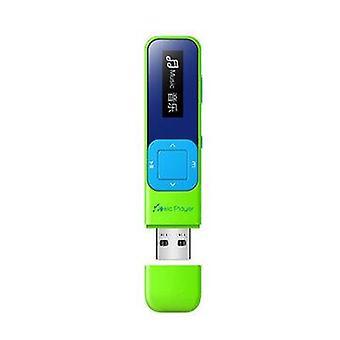 IQQ Q1 Mini Tragbare verlustfreie MP3 Musik-Player Bulit-in 8GB mit FM Radio Record