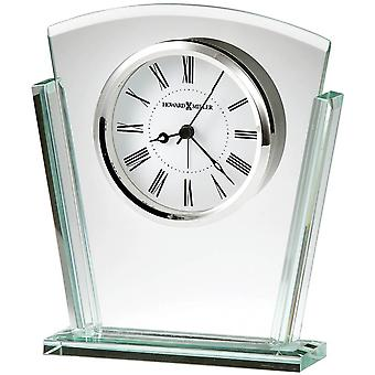 Howard Miller Granby Tabletop Clock - Silver/Clear