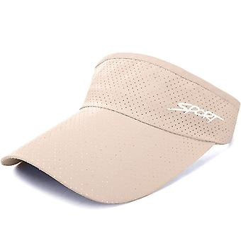 Golf Cap Breathable, Quick-drying, Adjustable, Sports Visor Hats For Summer,