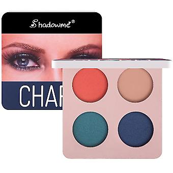 Matte Eye Shadow Palette Makeup -shimmer Pigment Waterproof Mineral Balm Shade