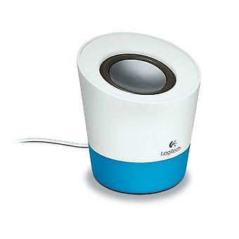 Logitech Z50 Speaker Computer PC Laptop Smart Phone Tablet Speaker - Ocean Blue