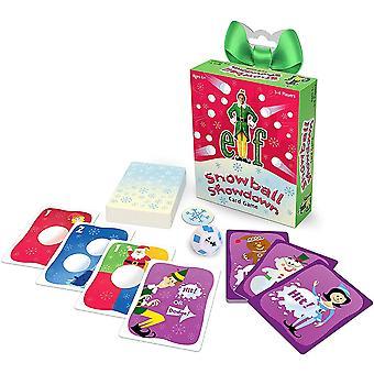 Elf Snowball Showdown Card Game