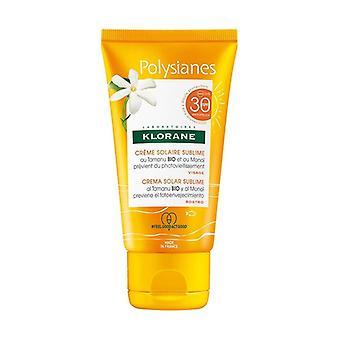 Polysianes sublime face sun cream spf 30 50 ml of cream