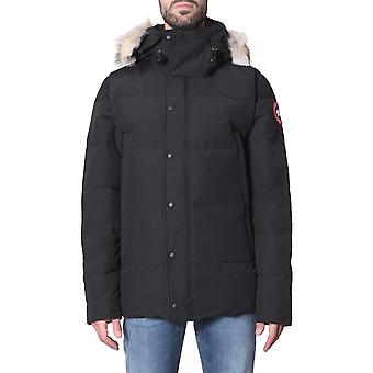Canada Goose 3808m61 Men's Black Nylon Down Jacket