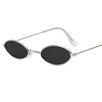 Fire Flame Women Sunglasses - Men Rimless Wave Luxury Trending Narrow Vintage