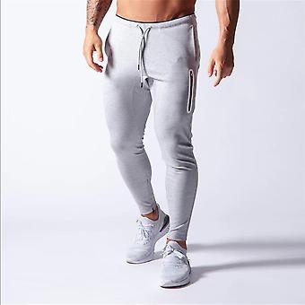 Joggingbukser, Mænd Sport Sweatpants, Running Joggers Bomuld Trackpants, Slim