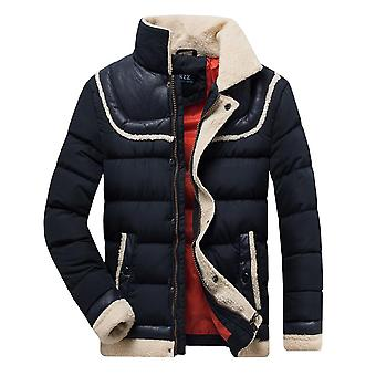 Men Winter Autumn Thick Warm Fleece Hooded Parkas Jacket, Coat Outwear, Casual