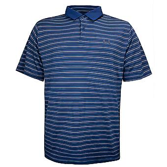 Under Armour Mens Stripe Golf Polo Shirt Blue Top 1342081 437