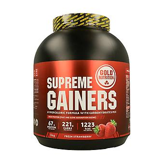 Supreme Gainers 3 kg of powder (Strawberry)