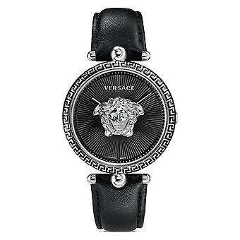 Versace VCO060017 Palazzo Empire Black Dial Steel 39MM Women's Watch