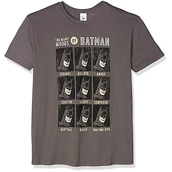 Batman unisex adultos os muitos humores de Batman design T-shirt