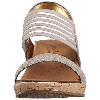 Skechers naisten beverlee suljettu rento Platform sandaalit