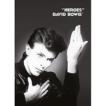 David Bowie Heroes Postcard