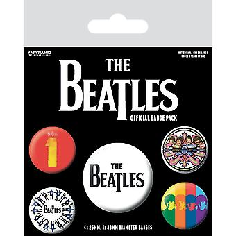 The Beatles Badge Set (Pack of 4)