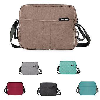 Lorelli Wrapping Bag met kronkelende pad 3 binnencompartimenten buiten compartimenten schouderriem