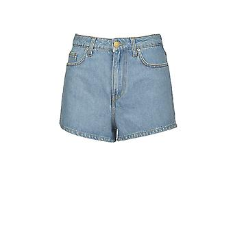 CHIARA FERRAGNI FLIRTING DENIM SHORTS