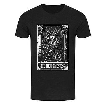 Deadly Tarot Mens The High Priestess T-Shirt
