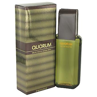 QUORUM door Antonio Puig Eau De Toilette Spray 3.4 oz/100 ml (mannen)