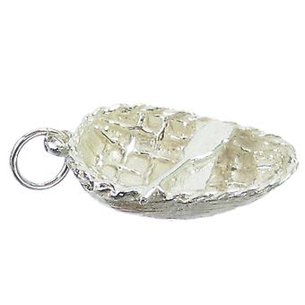 Coracle Sterling Silver Charm .925 X 1 Coracles Boats Charms - 256