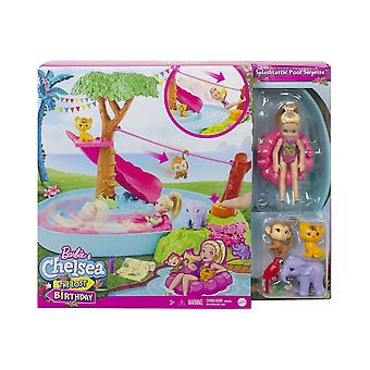 Barbie Birthday Surprise Chelsea Jungle River Playset