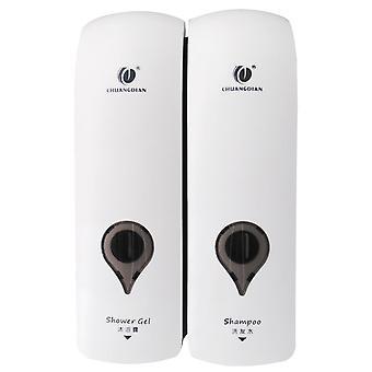 Self Adhesive Soap Dispenser, Wall Mounted, Manual, Bathroom Shower Gel, Liquid