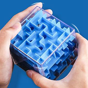 3d Mini Speed Cube Maze Magic Puzzle Game Rolling Ball Brain Learning
