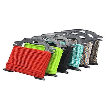 IPRee Outdoor Paracord Storage Reel Bobbin Bracket Winder Rope Organizer For Camping Hiking