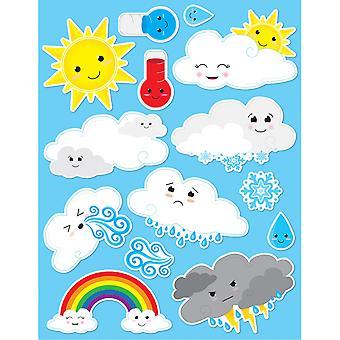Die-Cut Magnets, Cute Weather