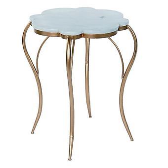Boční stůl Dekodonia Kovový mramor (54 x 54 x 60 cm)