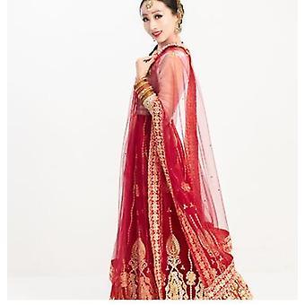 Intia Saree Dupattas iso huivi verkko