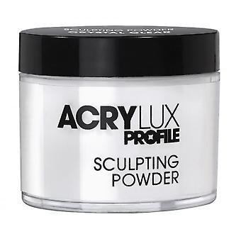 Akrylux Salon System Acrylux Sculpting Powder - Krystalicznie czysty