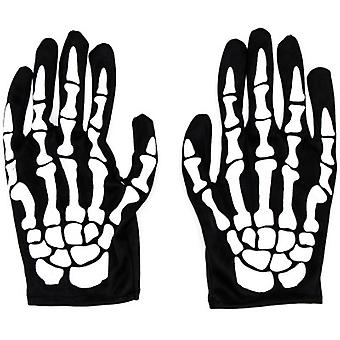 Gants squelette Halloween Costume Party Cosplay Gants Full Finger Mummy Ghost Gloves