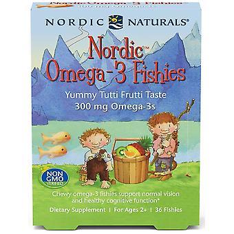 Nordic Naturals Oméga-3 Poisson Nordique 300 mg 36 Pièces