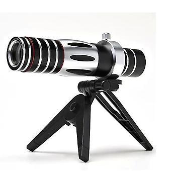 Telefon komórkowy Uniwersalny Zoom Telescope 5-15x Zoom telefon komórkowy Zoom optyczny Teleskop Długi obiektyw noktowizor