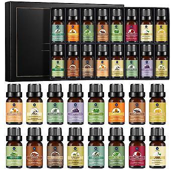 16pcs  Pure Essential Oils Set Relieve Stress Diffuser  (hot Sale 16pcs)