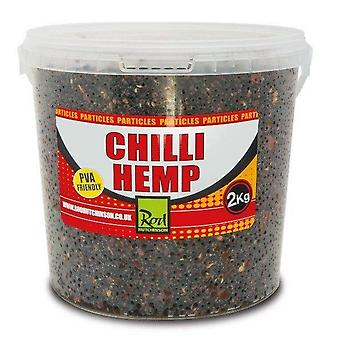New R Hutchinson Chili Hemp Bucket 2Kg Grey