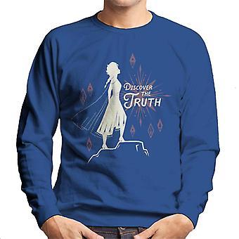 Disney Frozen II Elsa Discover The Truth Men's Sweatshirt