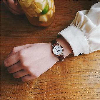 Bamboo Knot Vintage Leather Small Watches