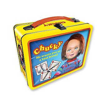 Lata chucky llevar toda la caja divertida