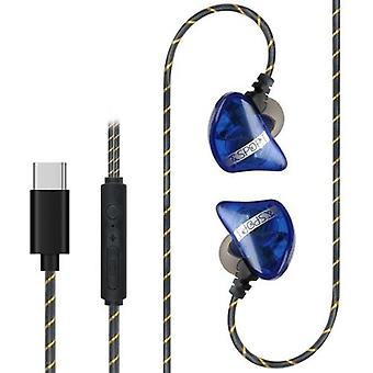 3.5mm Wired Headset In Ear Music Headphones Smart Phone Earphone Hands-free with Microphone