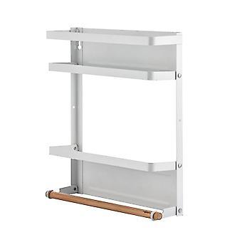 2つの棚が付いている磁気貯蔵棚