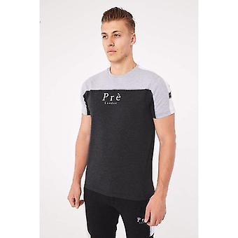 Pre London Altura T-Shirt - Charcoal Marl