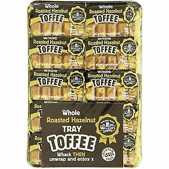 Walkers Nonsuch Ganze geröstete Haselnuss Tablett Toffees 1kg 1000g