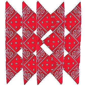 FengChun HY Paisley Bandana Halstuch 100% Baumwolle 14Stk,12Stk,8Stk 55 x 55 cm Kopftuch Armtuch
