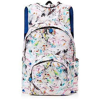 MorikukkoMorikukko Hooded Backpack Kool Grey Pollock BlueUnisex - AdultZainiMulticolore (Grey Pollock Blue)33x8x40 Centimeters Ref. 8682328760693