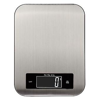 Stainless Steel Kitchen Cooking Scale 10 Kg Capacity 10000 G/1 G